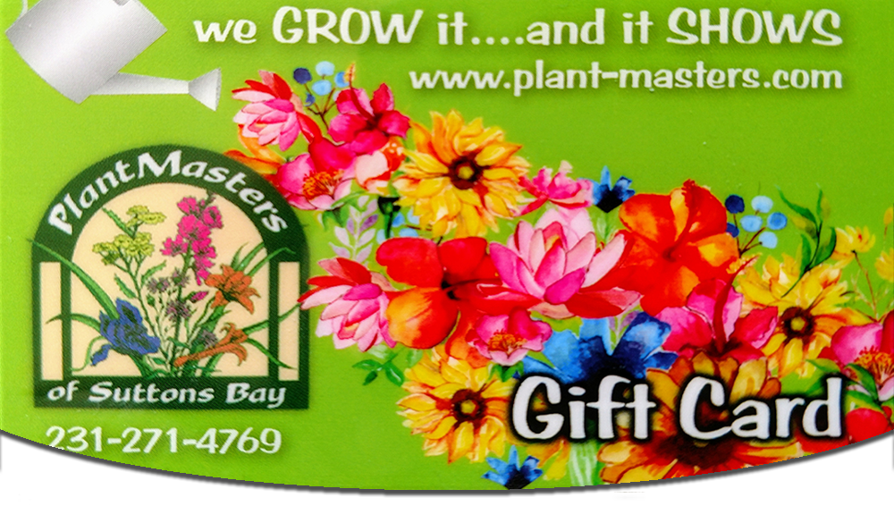 gift cards - Plant Masters